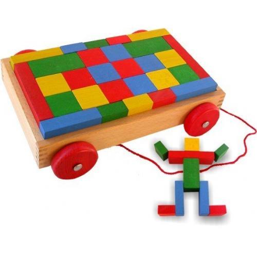 Chariot Cubes Formes et Couleurs