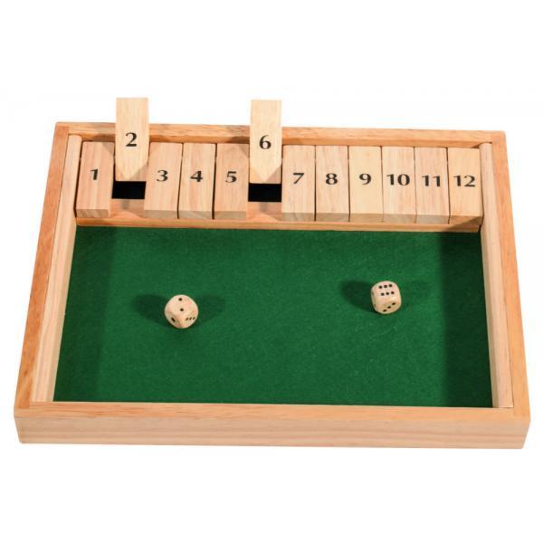 Fermer la boîte - 12 dominos
