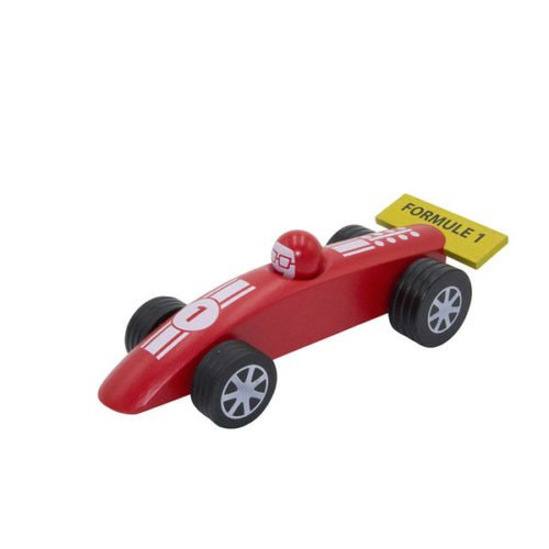 Voiture F1 GM rouge