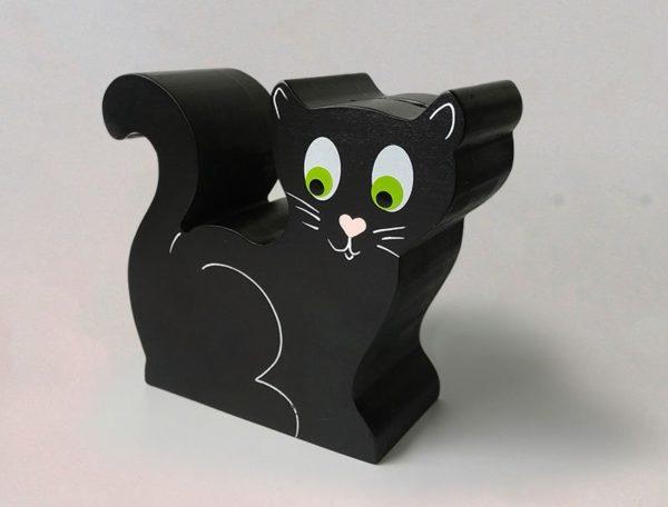 Tirelire Chat noir