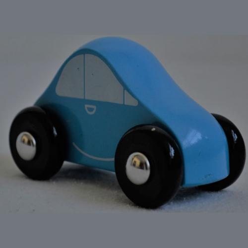 Voiture Rallye bleu