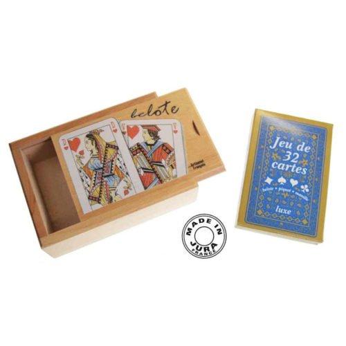 Boîte carte Belote