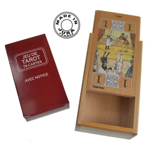 Boîte carte Tarot