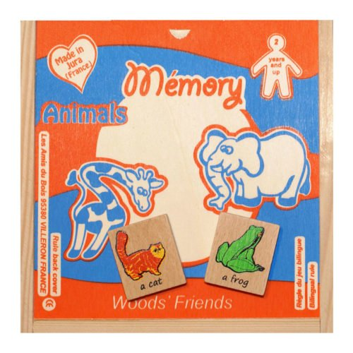 Memory Animaux en anglais