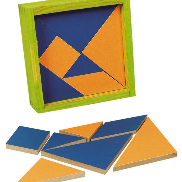 Coffret de 4 Tangrams