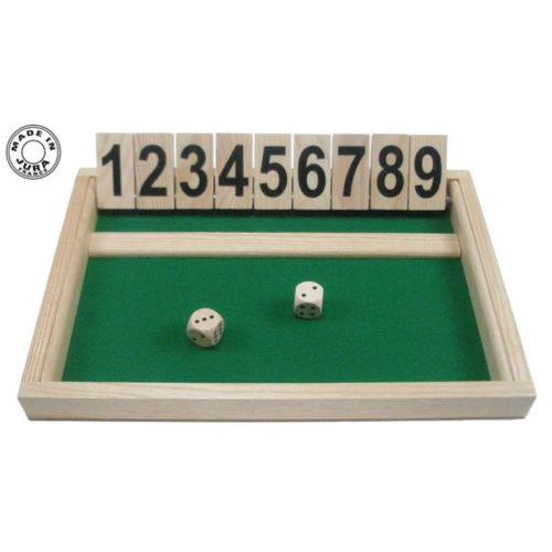 Fermer la boîte - 9 dominos
